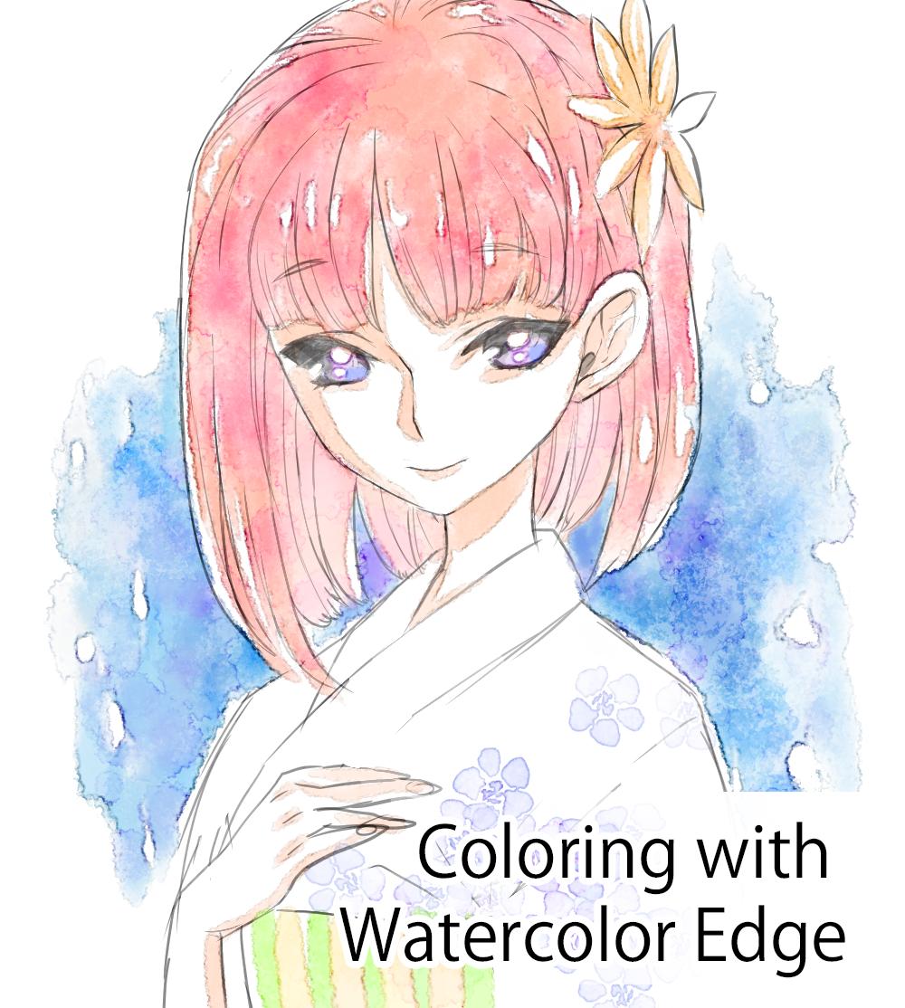 MediBang Watercoloring Tutorial by medibangadmin on DeviantArt
