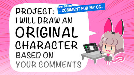Design your OC based on the comments project by medibangadmin