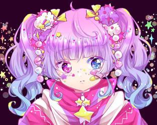 Decora style girl / Artist: Chibana by medibangadmin