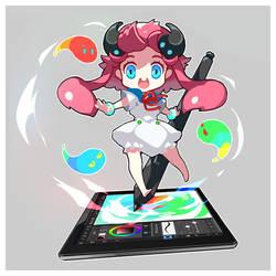 MediBang official character - Medi chan by medibangadmin