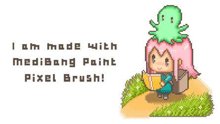 Pixel art with MediBang Paint by medibangadmin