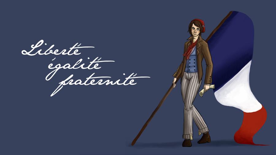 Assez Liberte egalite fraternite WP by perfect-tea on DeviantArt XV39
