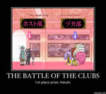 The battle of the clubs demotovational