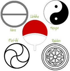 5 noble clan symbols by SerenEvy