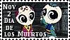 Dia de los Muertos Stamp by Sorceress2000