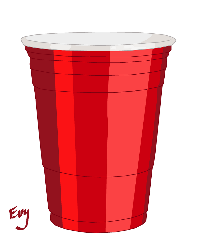Tops Solo Cup Clip Art : Red cup by sorceress on deviantart