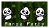 Panda Party by SerenEvy