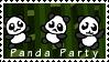 Panda Party by SerenEvy