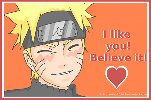 Valentines Day Card : Naruto By SerenEvy ...