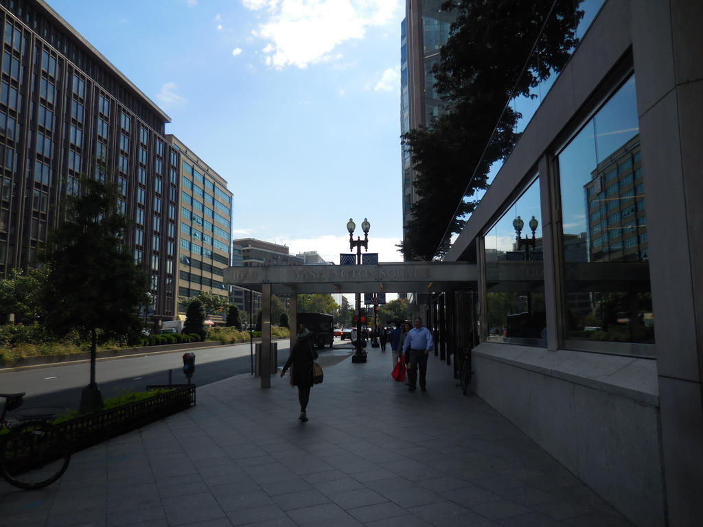 Downtown DC by Sorceress2000