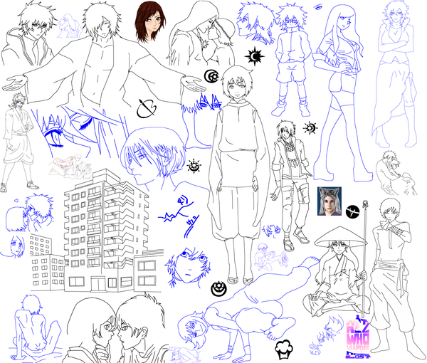 Sketchdump2015 by Sorceress2000