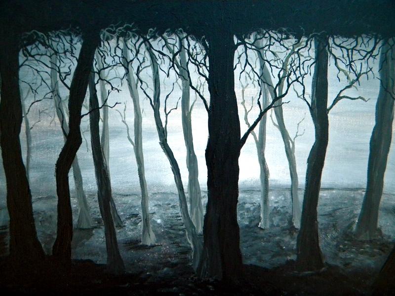 Dark Silent Forest by blablover5