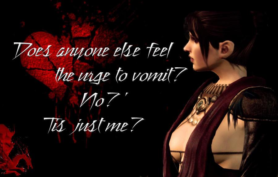 Morrigan Valentine Dragon Age By Blablover5 ...