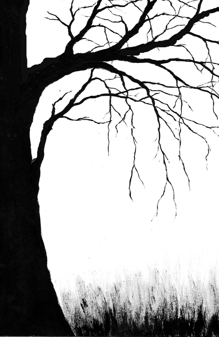 Spooky Tree Cover by blablover5 on DeviantArt