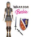 Warrior Barbie