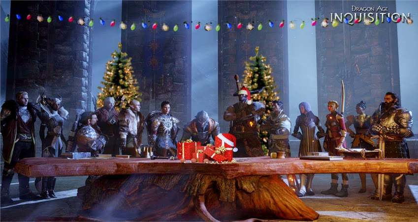 Dragon Age: Inquisition Christmas by blablover5 on DeviantArt