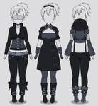 Kisekae Cyberpunk Outfits (w/ codes)