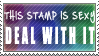 Sexy Stamp by GlowTW