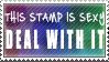 Sexy Stamp by GlowTW