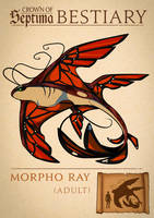 002: Morpho Ray by ArchivesofSeptima