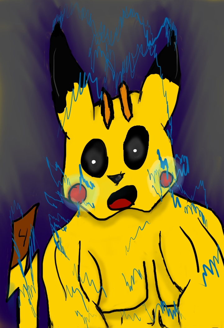 Pikachoke by Ninja676
