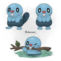 Biver (fakemon) by Charenel