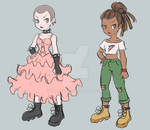 Trainers sketch