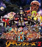 Anime Avengers: Infinity War Z by Tomzilladoesartsorta