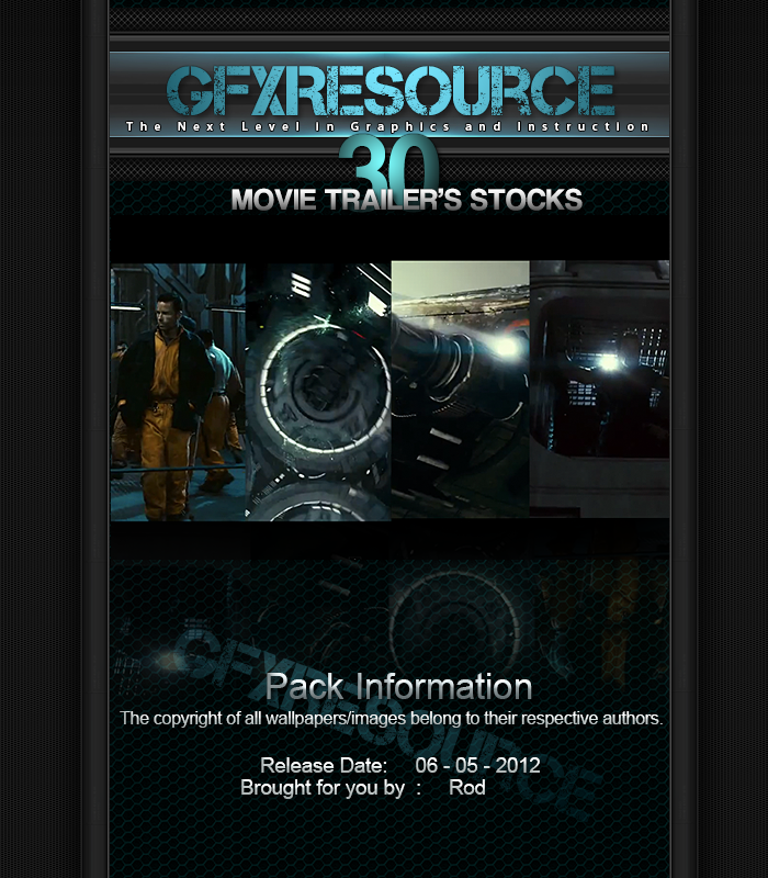 30 Workable Movie Trailer's Stocks by RodTheSecond