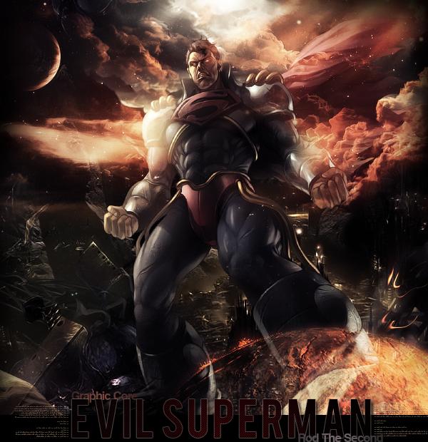 Evil Superman LP by RodTheSecond