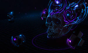 Skull Between Dimensions
