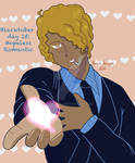 Blacktober Day 15: Hopeless Romantic by Prominaj