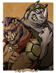 Monster May: Bebop and Rocksteady