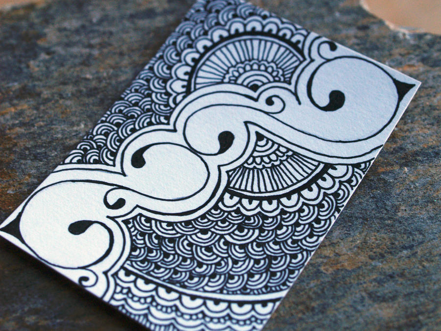 Mehndi For The Inspired Artist : Henna inspired aceo by glamourpuss on deviantart