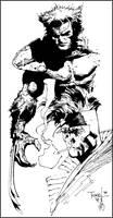 Wolvie 'n Gambit Inked