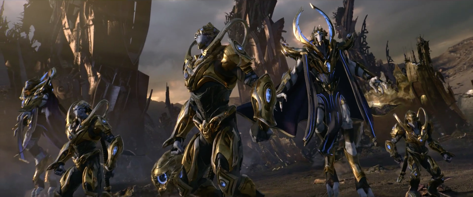 Legacy Of The Void Wallpapers: StarCraft II: Legacy Of The Void Opening Cinematic By