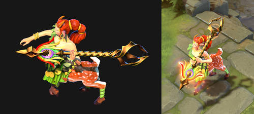 Enchantress immortal weapon by DimensionalDrift