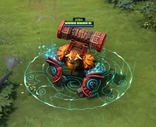 Earthshaker immortal bracer by DimensionalDrift