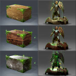 Fall Major Effigy icons and base model by DimensionalDrift