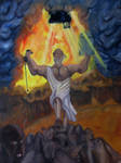 Moses victorious