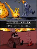 UNCIVIL WAR: king of the hell! by kdanielss