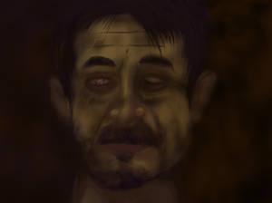 My portrait as Dorian Grey