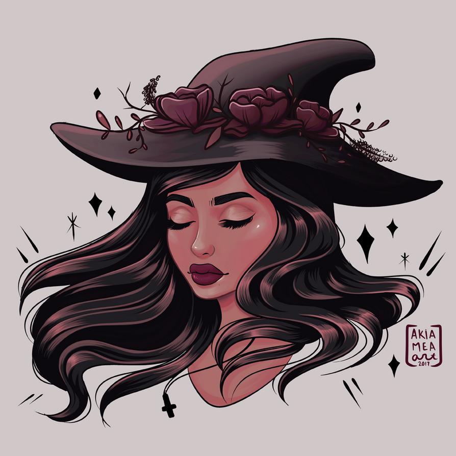 Witch by akiamea