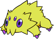Shiny Joltik by DigitalPokemonMaster