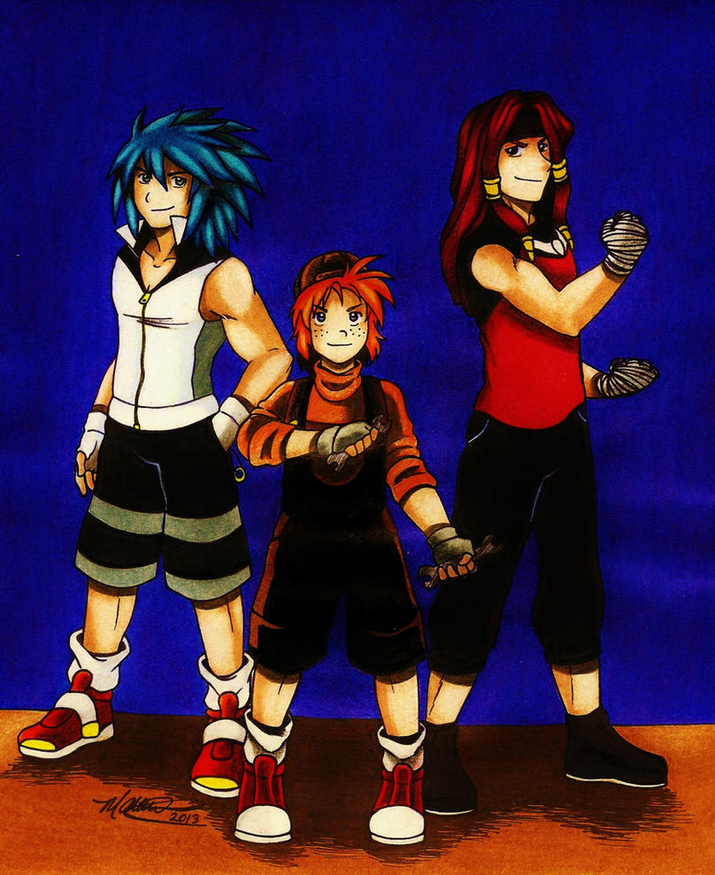 .: Team Sonic :. by Dreamgirl2007