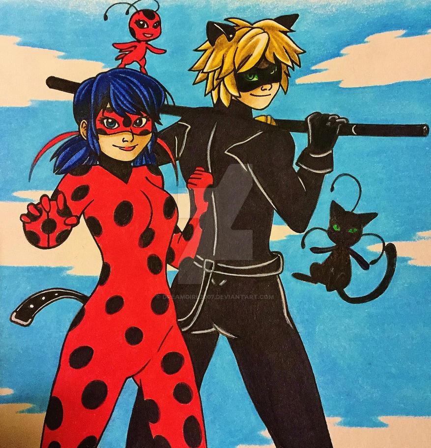 .: Miraculous Ladybug :. by Dreamgirl2007