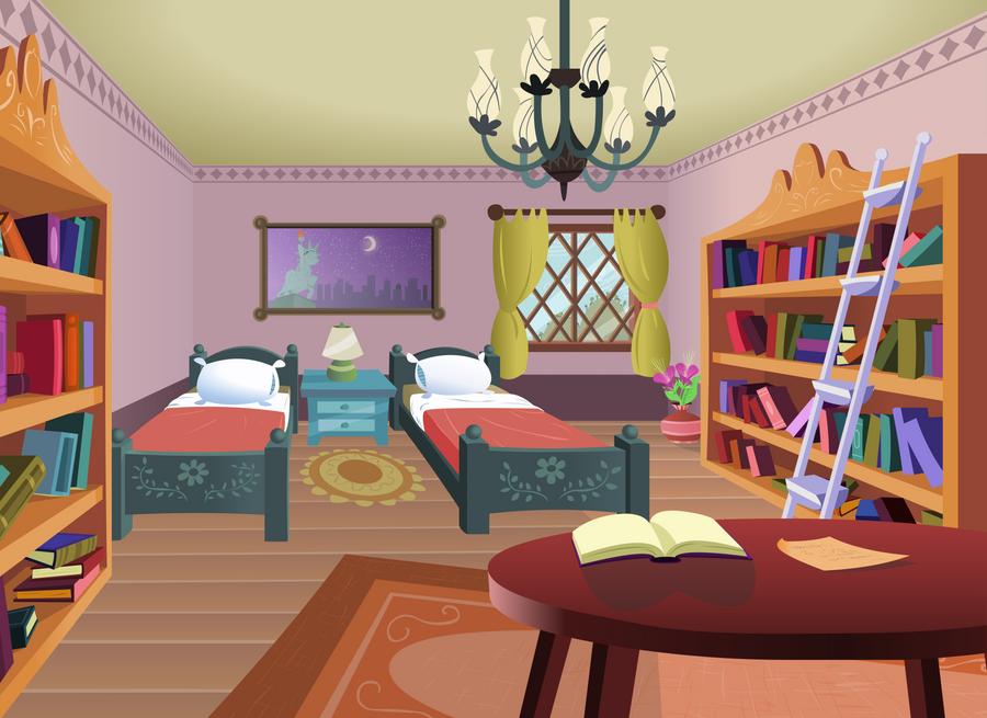 MLP FiM   Hotel Room By Sigmavirus1 ...