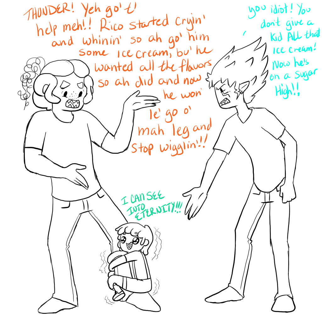Why Gordie shouldn't babysit by MissPomp