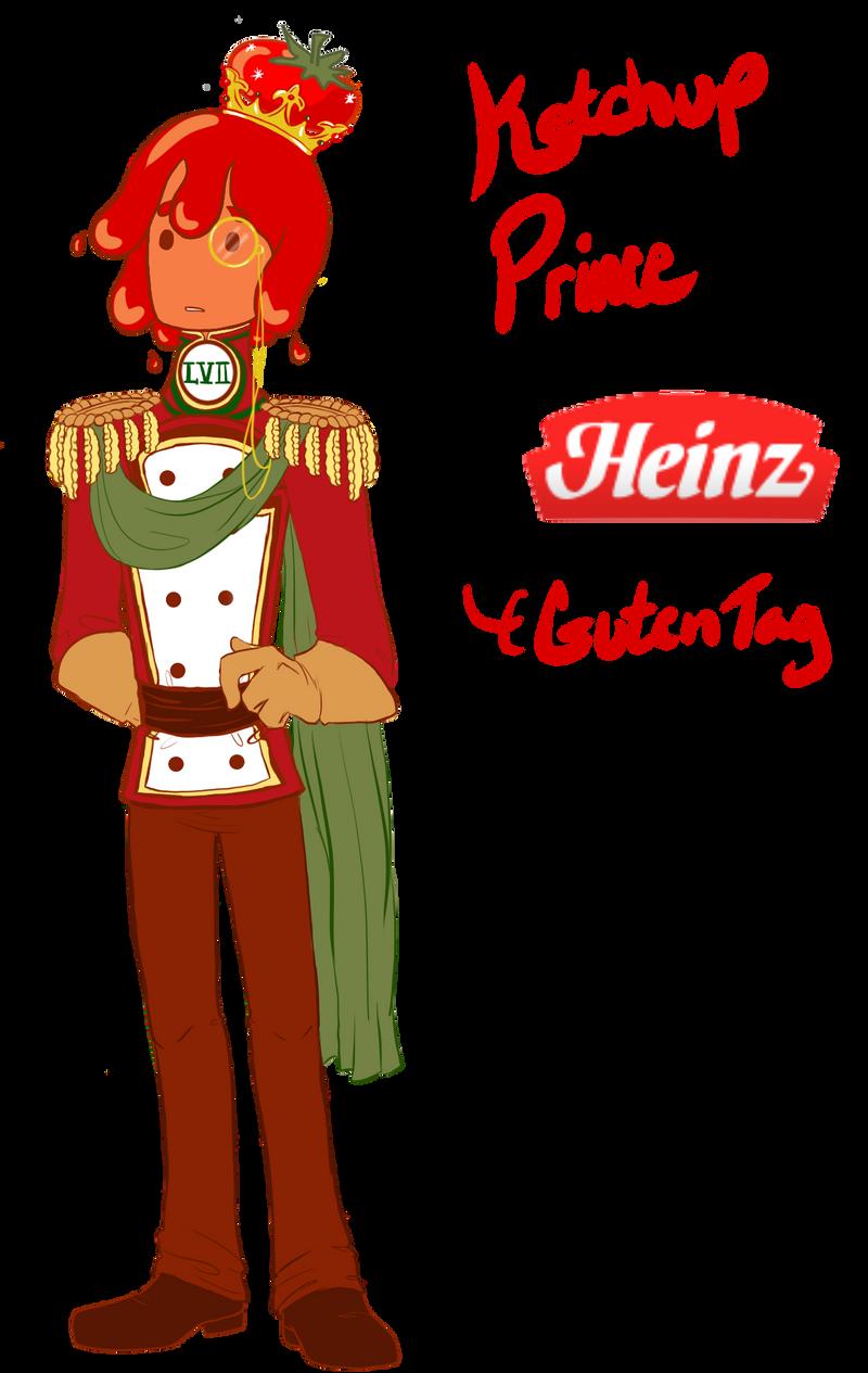 Ketchup Prince Heinz by MissPomp