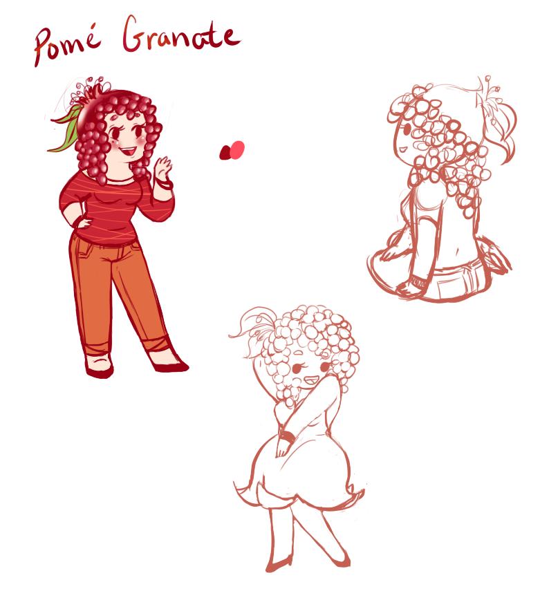 Pomela Granate by MissPomp